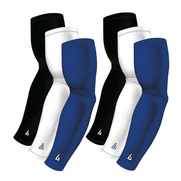 6-Pack Bundle | Solids |White/Black/Blue Royal Standard