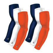 6-pack Bundle | Solids | Orange Fire/White/Blue Navy Dark