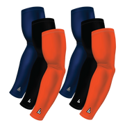 6-pack Bundle | Solids | Orange Dark/Black/Blue Navy Dark