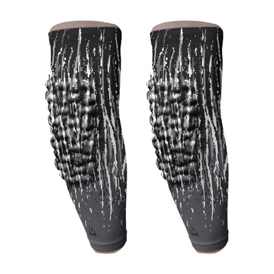 Pro-Fit Padded Arm Sleeve - Black Streaks