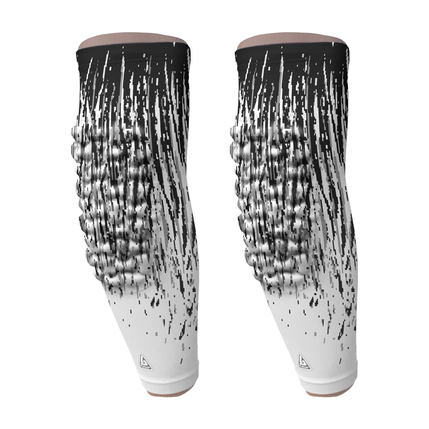 padded arm sleeve white streaks