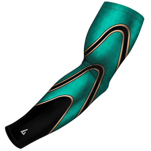 tri pipes green gold b driven slv_pro arm sleeve