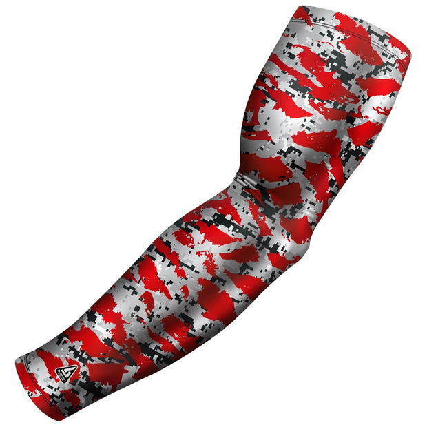 red swag camo arm sleeve