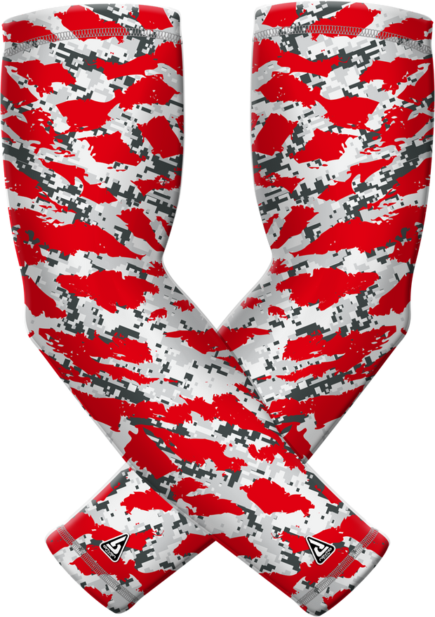 Red Wild Sports Compression Sleeve