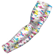 pink and blue swag camo arm sleeve