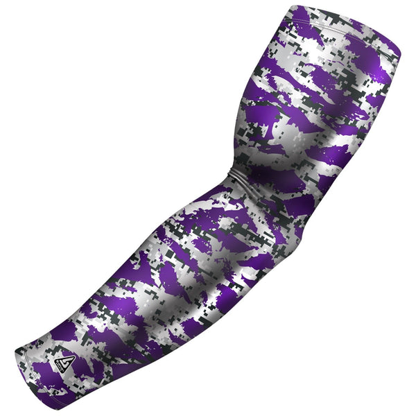 purple swag camo arm sleeve