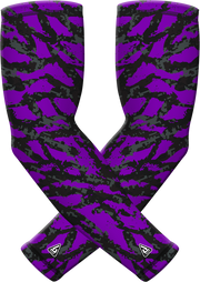 Purple Wild Sports Compression Sleeve