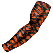 orange black swag camo arm sleeve