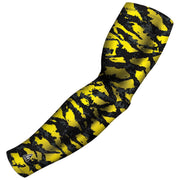 gold arm sleeves for athletes