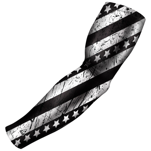 tactical sniper patriot series compression arm sleeve