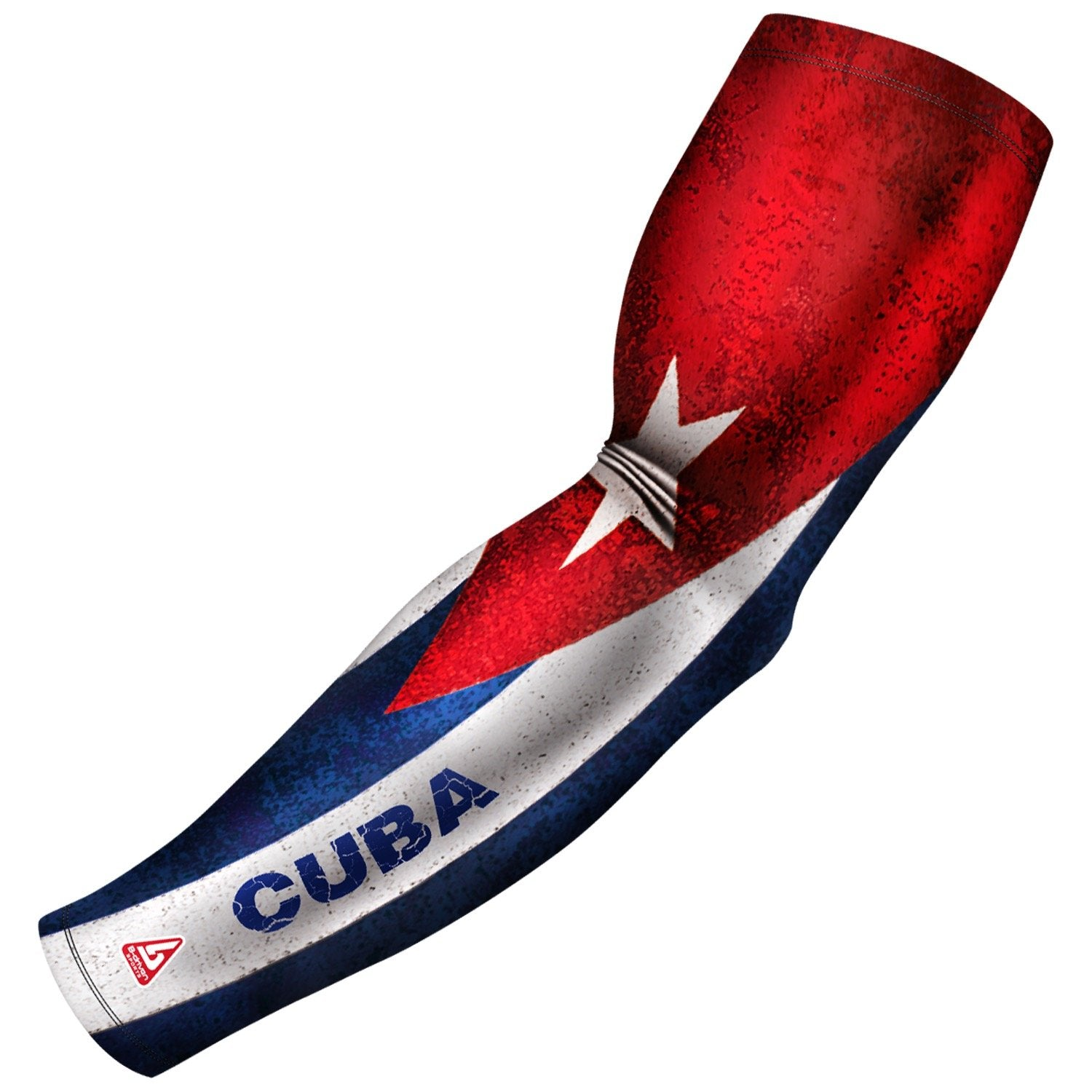 cuba pride series compression arm sleeve