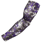 Purple Football Sleeves - Multiple Patterns