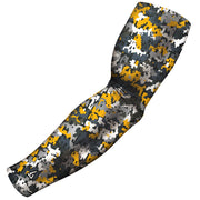 gold arm sleeves for football