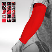 Red Basketball Arm Sleeve