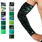 dark camo Green Baseball Arm Sleeve