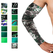 green camo arm sleeve