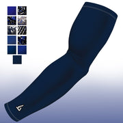 Navy Blue Lacrosse Compression Arm Sleeve - Multiple Patterns