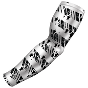 Black Baseball Arm Sleeve - Multiple Patterns