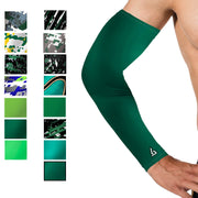 compression arm sleeve green