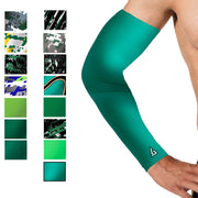 hunter green baseball arm sleeve