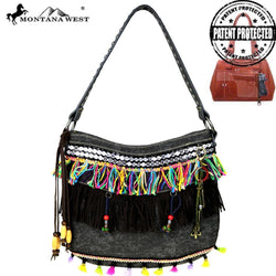 Montana West Fringe Collection Concealed Handgun Hobo