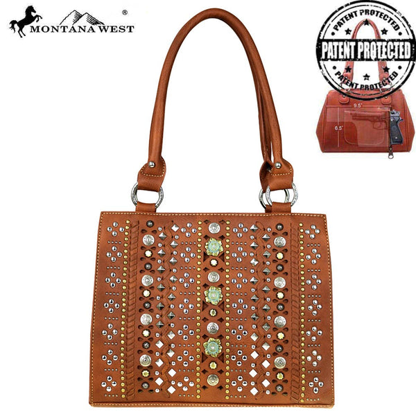Montana West Concho Collection Concealed Handgun Hobo