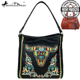 Montana West Embroidered Collection Concealed Handgun Hobo