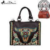 Montana West Embroidered Collection Concealed Handgun Satchel