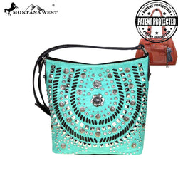Montana West Concho Collection Concealed Handgun Crossbody