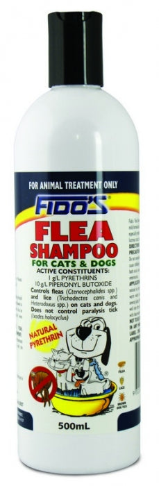 FIDOS FRE ITCH FLEA SHAMPOO 500ML