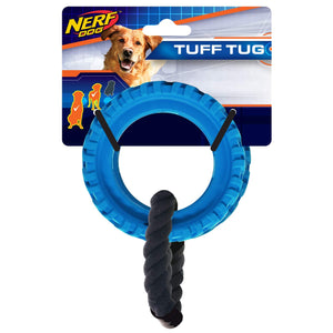 Nerf Dog Tire Wheel Tug Toy