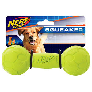 Nerf Dog Squeak Barbell