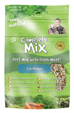 VETS ALL NATURAL CAT COMPLETE MIX 5KG