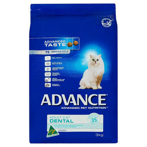 ADVANCE CAT DENTAL CHICKEN 3KG