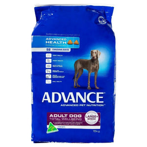 ADVANCE DOG TOTAL WELLBEING FOR LARGE BREEDS CHICKEN 15KG