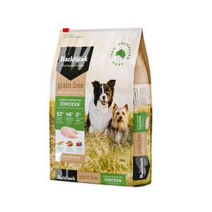 BLACK HAWK DOG GRAIN FREE CHICKEN 7KG