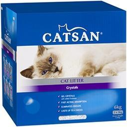 CATSAN CAT LITTER CRYSTALS 6KG