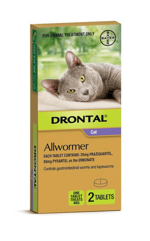 DRONTAL ELLIPSOID CAT 4KG 2S