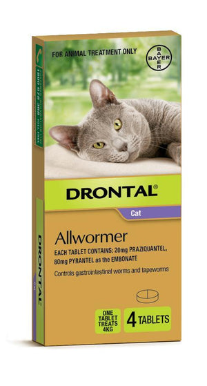 DRONTAL ELLIPSOID CAT 4KG 4S