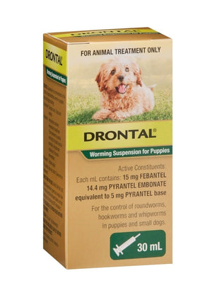 DRONTAL PUPPY WORMING SUS 30ML
