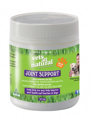 VETS ALL NATURAL JOINT SUPPORT POWDER 250G