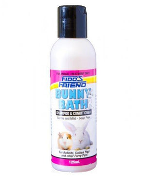 FIDOS FRIEND BUNNY BATH SHAMPOO AND CONDITIONER 125ML