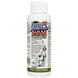 FIDOS RINSE CONCENTRATE 125ML