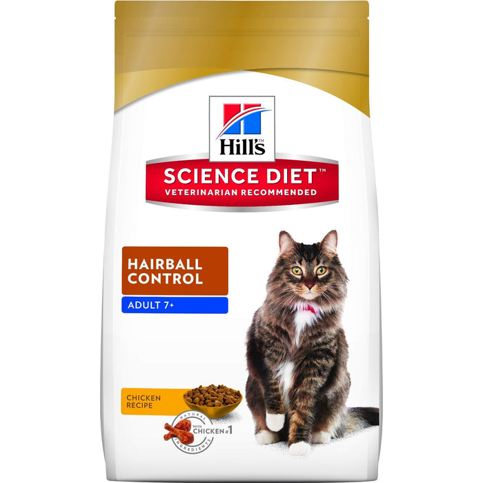 HILLS SCIENCE DIET CAT HAIRBALL CONTROL ADULT 7+ 2KG