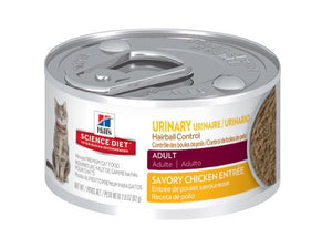 HILLS SCIENCE DIET CAT URINARY & HAIRBALL CONTROL ADULT 82G x 24