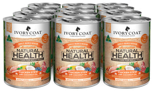 IVORY COAT CHICKEN STEW WITH COCONUT OIL 12 X 400G