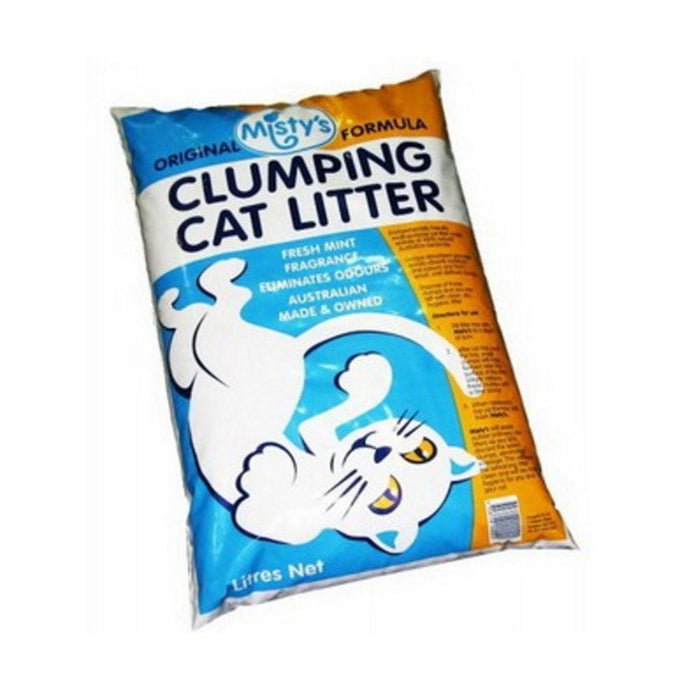 MISTYS CLUMPING CAT LITTER 20L