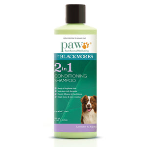 PAW 2 IN 1 SHAMPOO 500ML