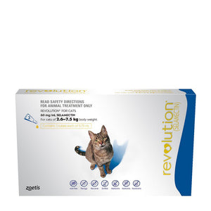 REVOLUTION CAT 2.6-7.5KG BLUE 3 PACK