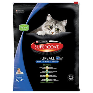 SUPERCOAT CAT FURBALL 8KG